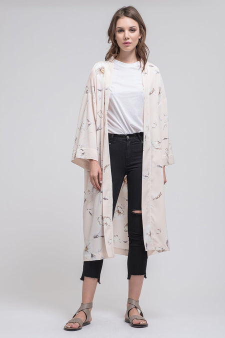 Wide Sleeve Chenille Cardigan