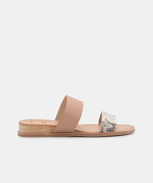 PAYCE Double Strap Sandals