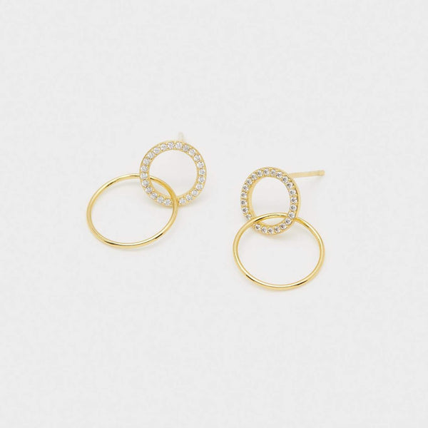 Balboa Shimmer Interlocking Studs