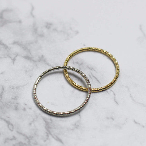 Delicate Beaded Ring