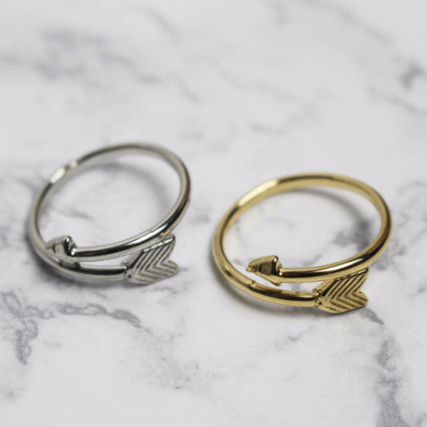Wrapped Arrow Ring
