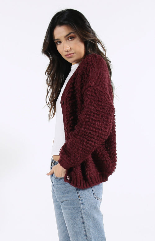 Amari Knit Cardigan Sweater