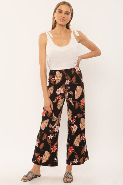 Coco Floral Cropped Pants