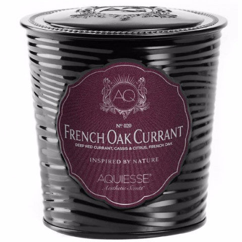 French Oak Currant Artisan Soy Candle