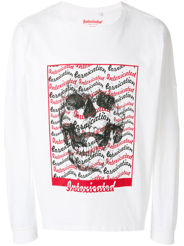 Wavey Skull Long Sleeve