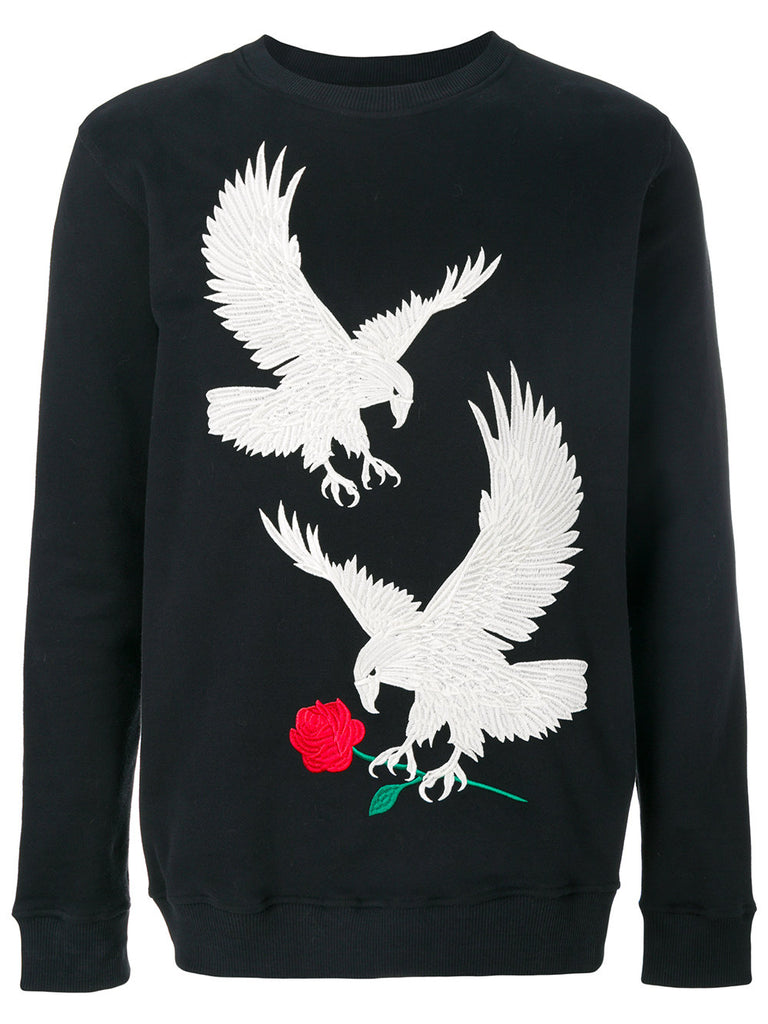 Eagle Embroidered Sweat