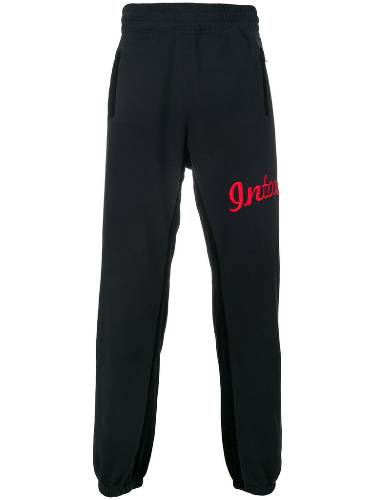 Velvet Embroidered Sweatpants