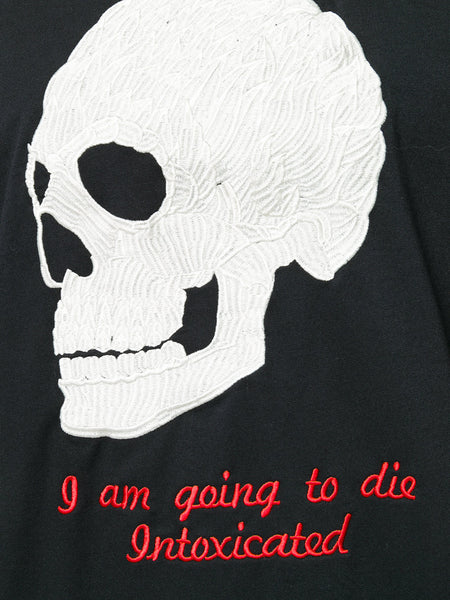 Skull Tshirt Embroidered
