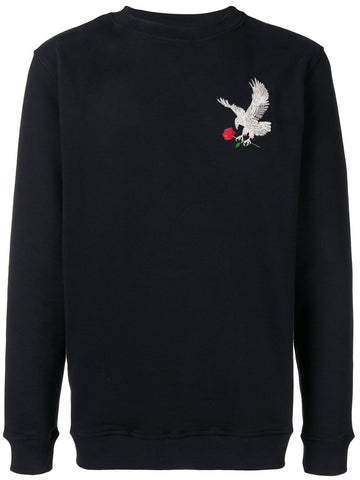 Eagle Back Embroidered Sweat
