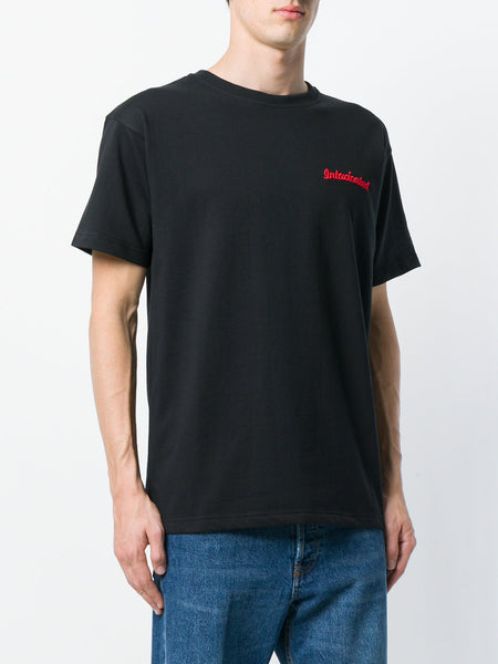 Chest Logo Embroidered Tshirt