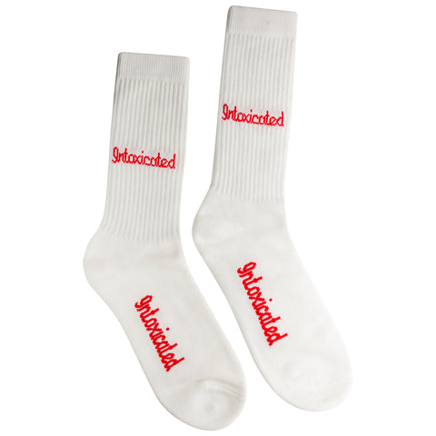 Logo White Socks