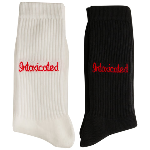 Pack Logo White & Black Socks