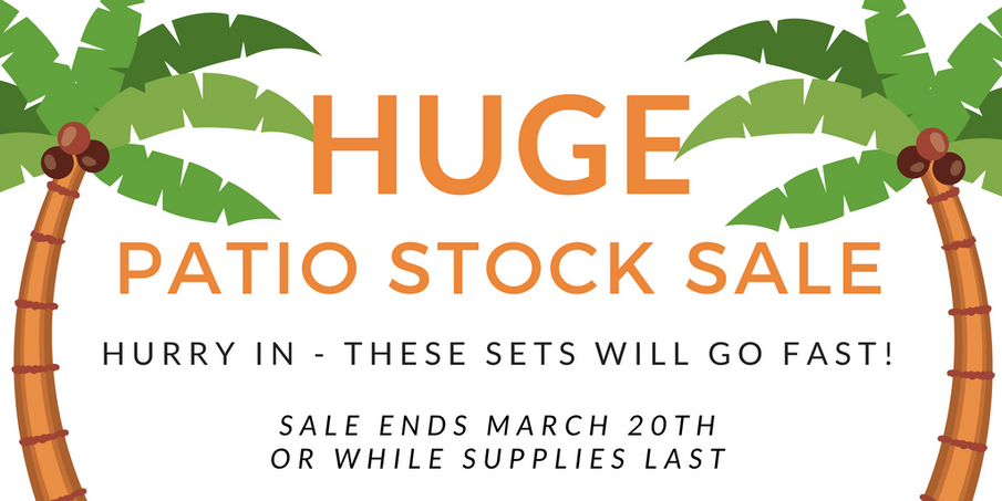 Patio In-Stock Sale