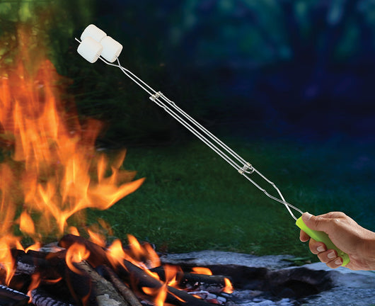 Heryshey's® S'mores Glow-in-the-Dark Extendable Cooking Forks