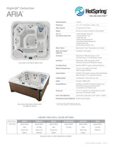 Aria Hot Tub by Hot Spring Spas