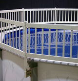 "36"" Vinyl Works Premium Resin Pool Fencing"