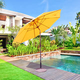 9' Manual Tilt Patio Umbrella - 636