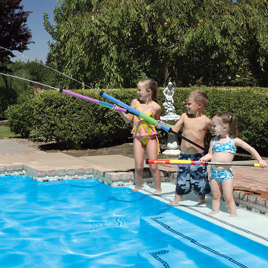 Poolmaster Water Pop Jumbo Hot Shots Power Water Launchers