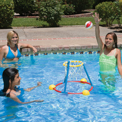 Poolmaster Hot Hoops Floating Basketball Game