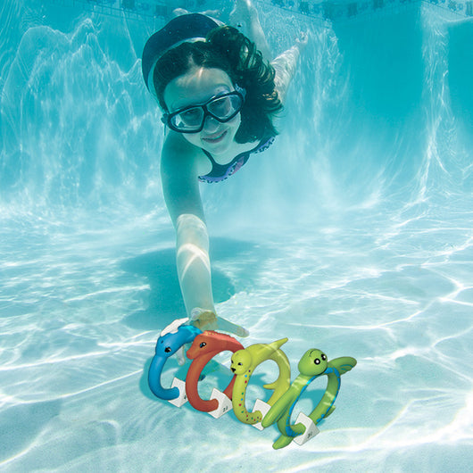 Poolmaster Soft Animal Rings - Dive Rings
