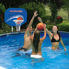 Poolmaster Above-Ground Pro Rebounder Poolside Basketball Game