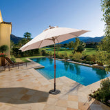 9' Auto Tilt Patio Umbrella - 736