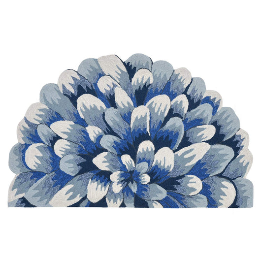 Blue Mum Indoor/Outdoor Rug - Frontporch Series