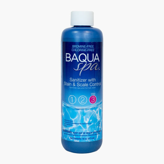 Baqua Spa Sanitizer with Stain and Scale Control