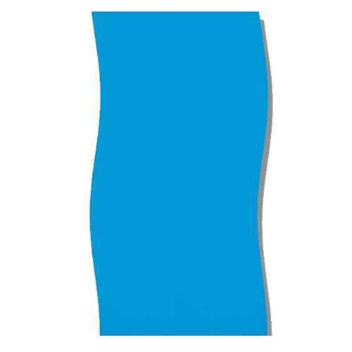 Overlap Pool Liner Solid Blue 20 Gauge