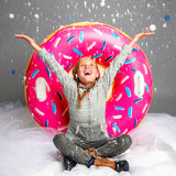 Big Mouth Giant Donut Snow Tube