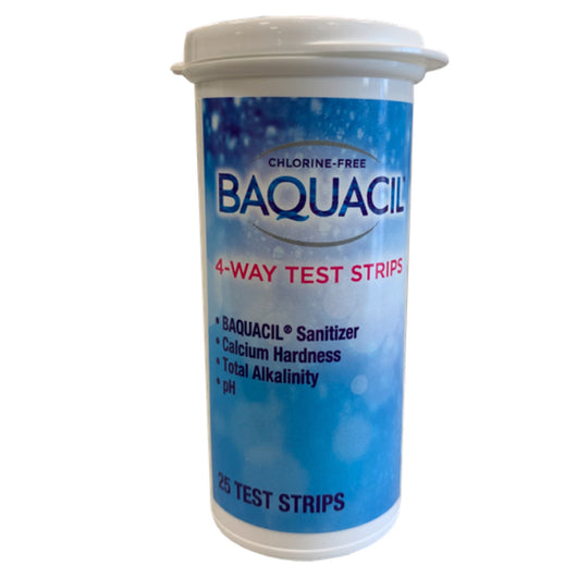 Baquacil Test Strips