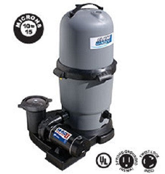 Waterways 200 sq. ft. Cartridge Filter with 2 hp Pump