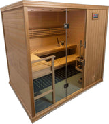 Traditional Steam Sauna : Hallmark Series HM57