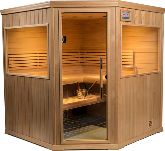 Traditional Steam Sauna : Hallmark Series HM66C