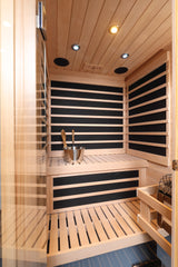 Infrasaunas: IS44 | Infrared & Steam Sauna Combo