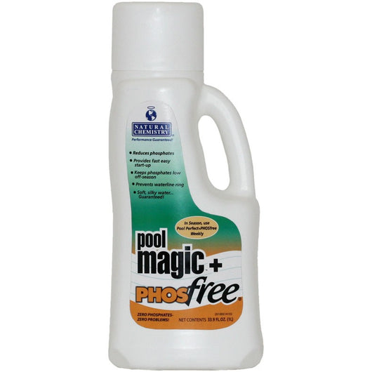 pool magic plus phosfree by natural chemistry