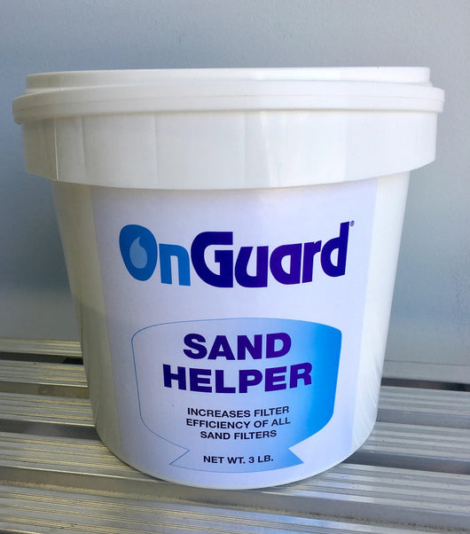 Sand Filter Helper by On Guard