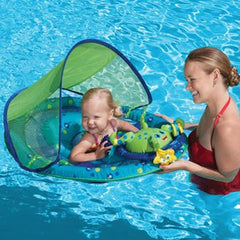Baby Spring Float with Activity Center & Canopy by Swimways