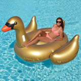 Swimline Giant Golden Goose Ride-On