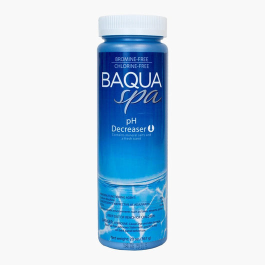 baqua spa ph decreased for hot tubs