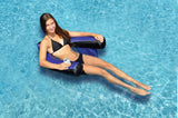 Swimline Floating Inflatable Fabric Covered U-Seat Pool Float