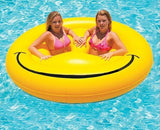 Swimline Smiley Face Island 72""