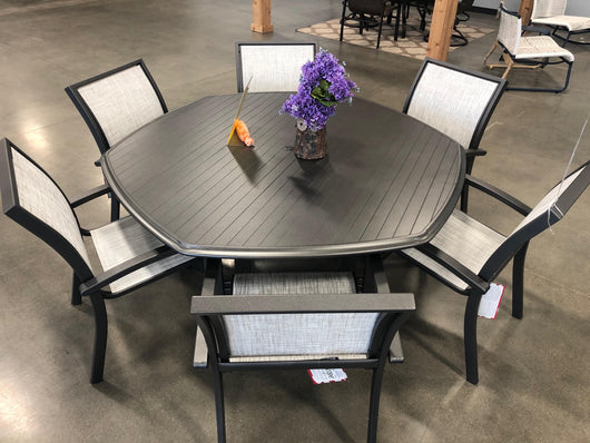 Telescope Dining Table - DISPLAY CLEARANCE!