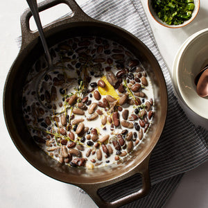 Creamy Dutch Oven-Braised Beans