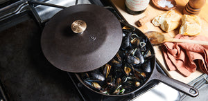 Cider-Steamed Mussels
