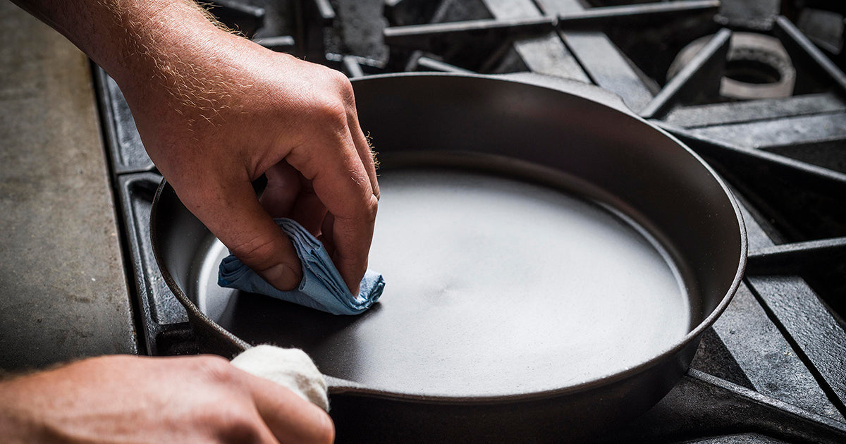 Cast Iron Seasoning: Step By Step Guide – Field Company