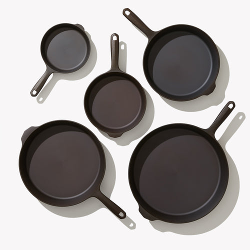 Five-Piece Cast Iron Cookware Set