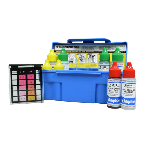 Taylor 4-In-1 Test Kit - K-1004 - Pool Baron