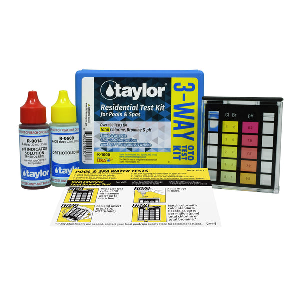 Taylor Basic Test Kit - K-1000 - Pool Baron