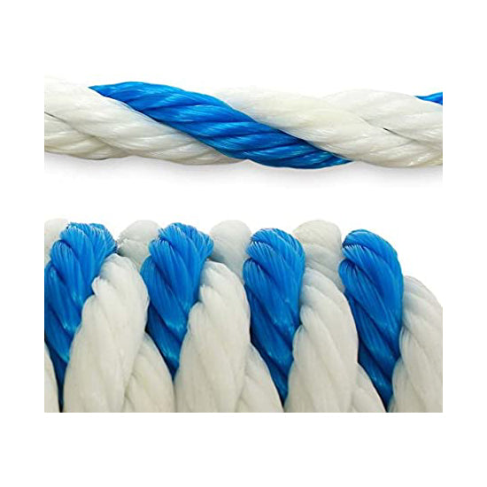 Pool Rope Blue And White (Sold by the Foot) - Pool Baron